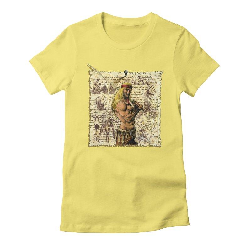 Salvaje Women's T-Shirt by Ferran Xalabarder's Artist Shop