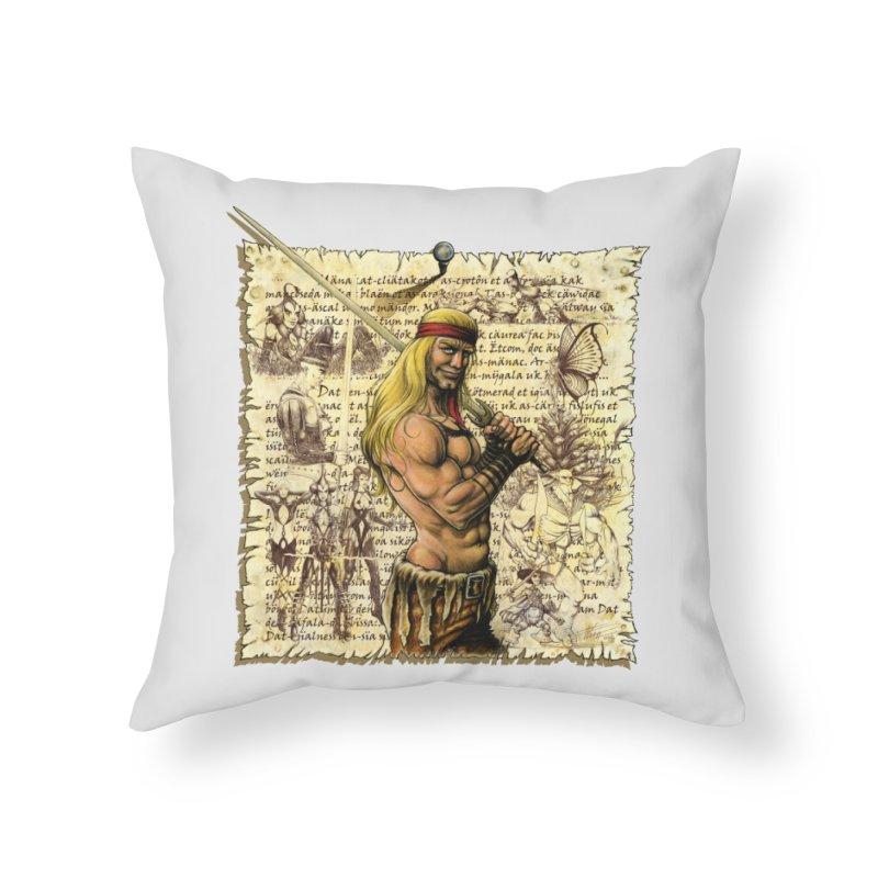 Salvaje Home Throw Pillow by Ferran Xalabarder's Artist Shop