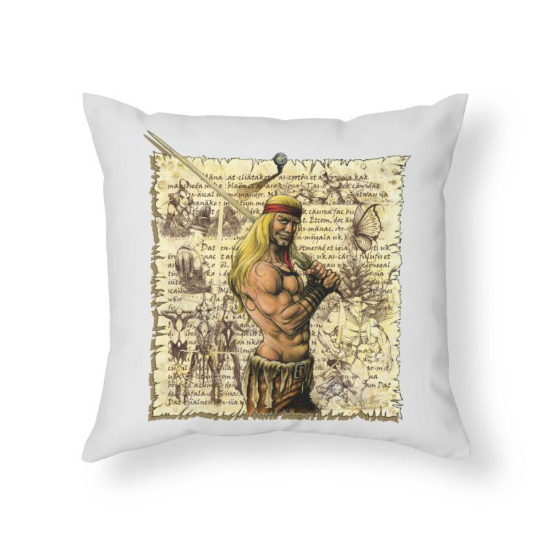 Salvaje Home Throw Pillow by Ferran Xalabarder's Artist Shop