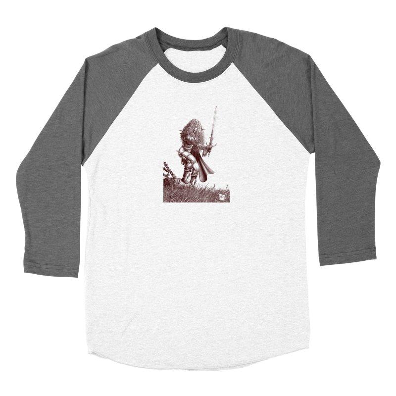 She-Warrior (brown) Men's Longsleeve T-Shirt by Ferran Xalabarder's Artist Shop