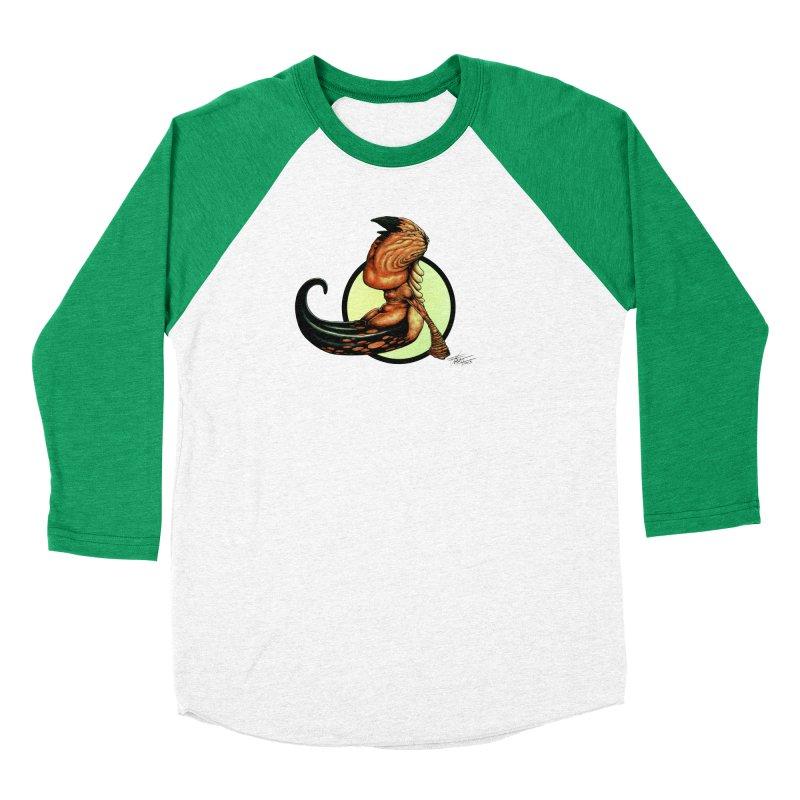 """Shock Therapy""'s Cosmic Worm Women's Baseball Triblend Longsleeve T-Shirt by Ferran Xalabarder's Artist Shop"