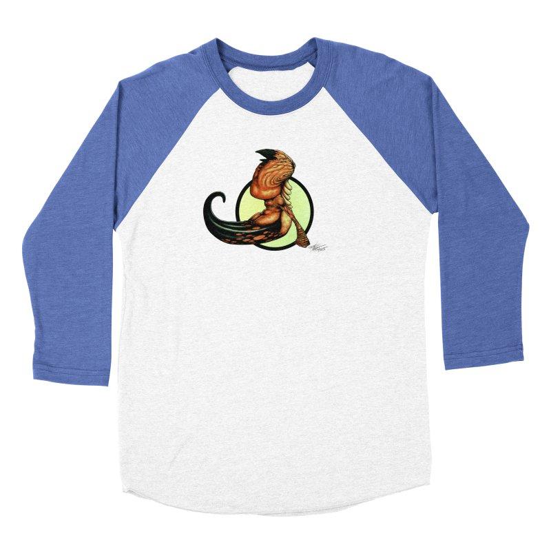 """Shock Therapy""'s Cosmic Worm Men's Baseball Triblend Longsleeve T-Shirt by Ferran Xalabarder's Artist Shop"