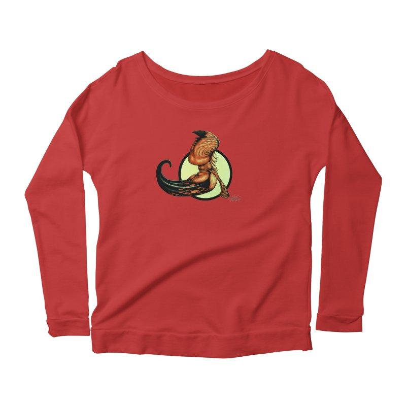 """""""Shock Therapy""""'s Cosmic Worm Women's Scoop Neck Longsleeve T-Shirt by Ferran Xalabarder's Artist Shop"""