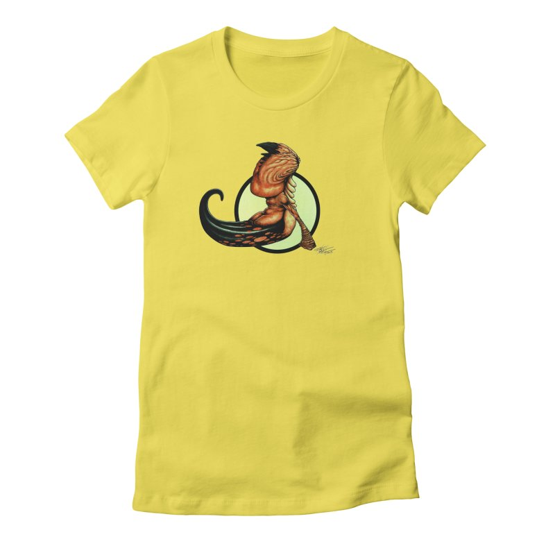 """Shock Therapy""'s Cosmic Worm Women's T-Shirt by Ferran Xalabarder's Artist Shop"