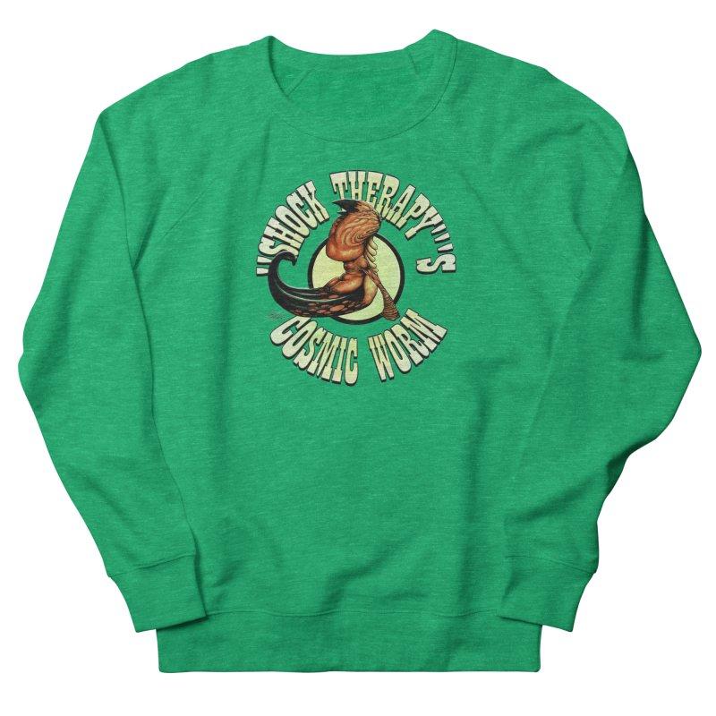 """""""Shock Therapy""""'s Cosmic Worm (lettered) Women's Sweatshirt by Ferran Xalabarder's Artist Shop"""
