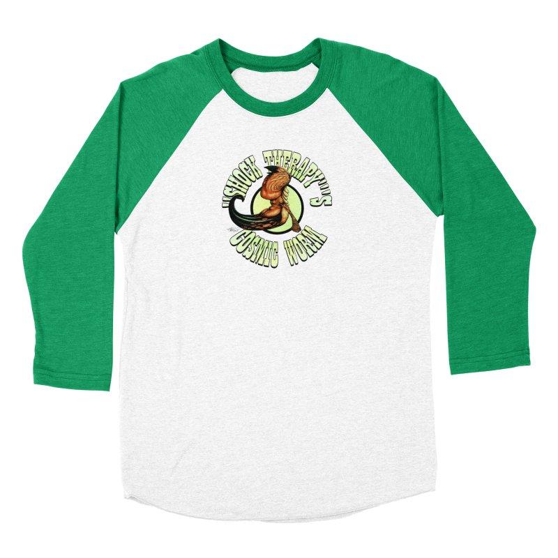 """Shock Therapy""'s Cosmic Worm (lettered) Men's Longsleeve T-Shirt by Ferran Xalabarder's Artist Shop"