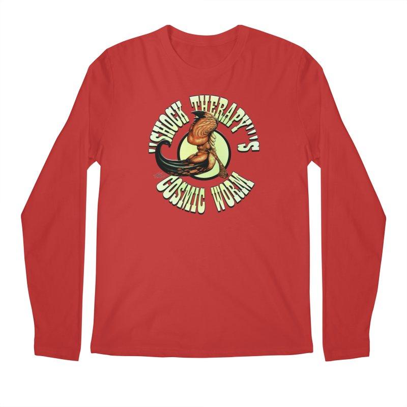 """Shock Therapy""'s Cosmic Worm (lettered) Men's Regular Longsleeve T-Shirt by Ferran Xalabarder's Artist Shop"