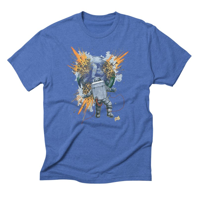 A Space Trifle Men's T-Shirt by Ferran Xalabarder's Artist Shop
