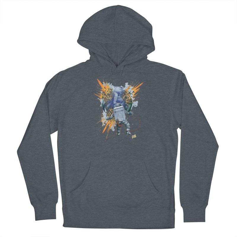 A Space Trifle Women's French Terry Pullover Hoody by Ferran Xalabarder's Artist Shop