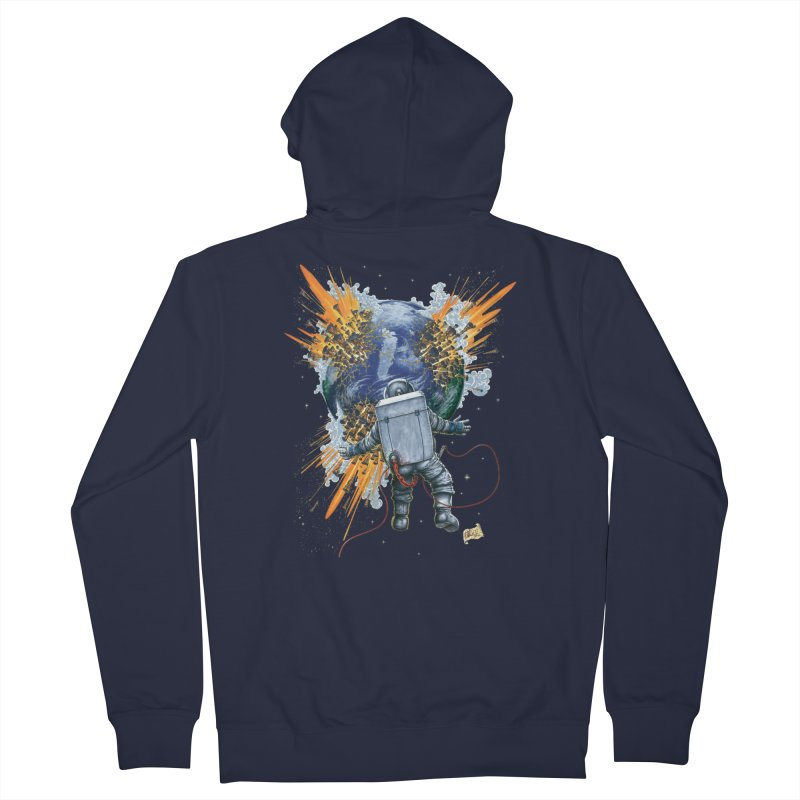 A Space Trifle Women's Zip-Up Hoody by Ferran Xalabarder's Artist Shop