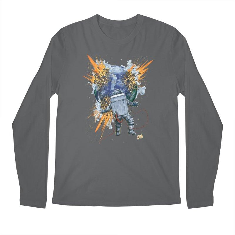 A Space Trifle Men's Longsleeve T-Shirt by Ferran Xalabarder's Artist Shop