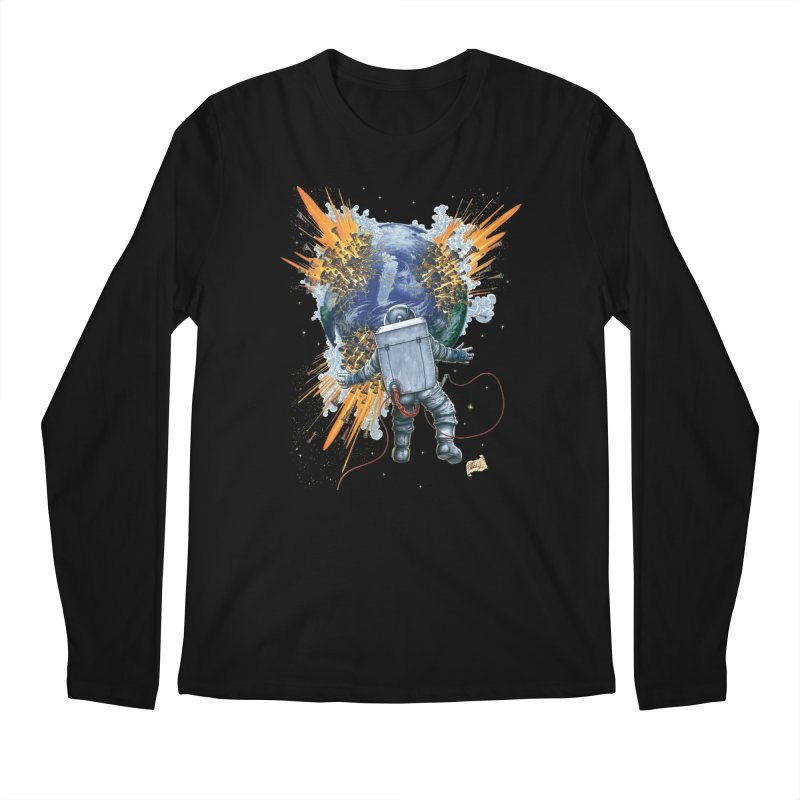 A Space Trifle Men's Longsleeve T-Shirt by Ferran Xalabarder's Artist Shop