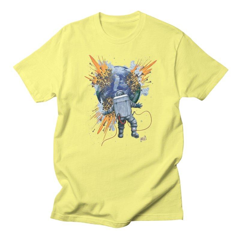 A Space Trifle Men's Regular T-Shirt by Ferran Xalabarder's Artist Shop