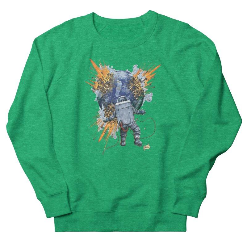 A Space Trifle Women's Sweatshirt by Ferran Xalabarder's Artist Shop