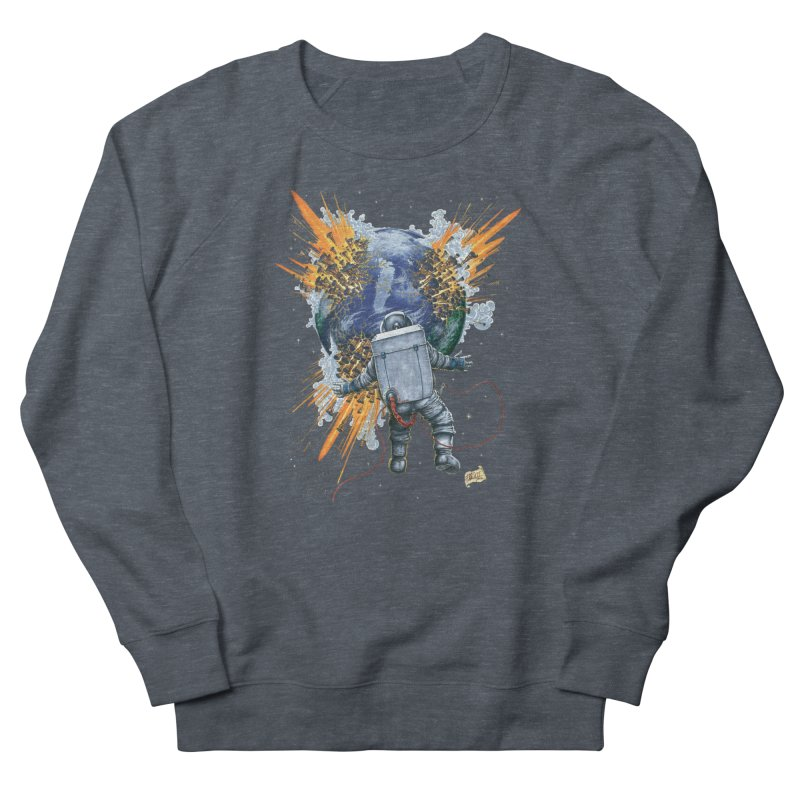A Space Trifle Men's Sweatshirt by Ferran Xalabarder's Artist Shop
