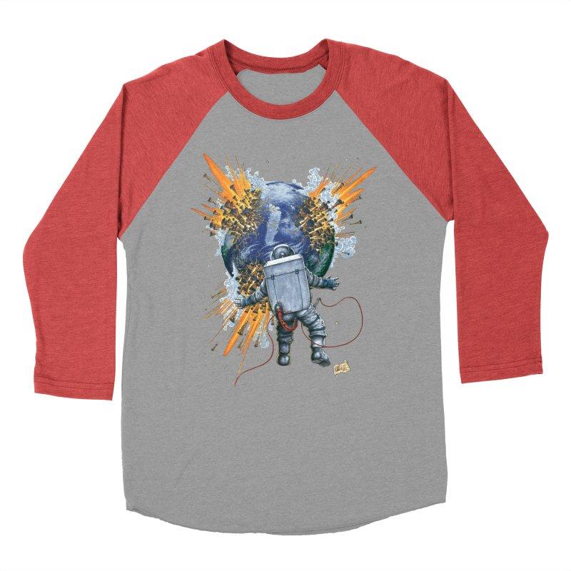 A Space Trifle Women's Baseball Triblend T-Shirt by Ferran Xalabarder's Artist Shop