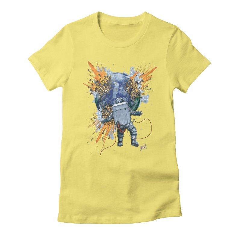 A Space Trifle Women's T-Shirt by Ferran Xalabarder's Artist Shop