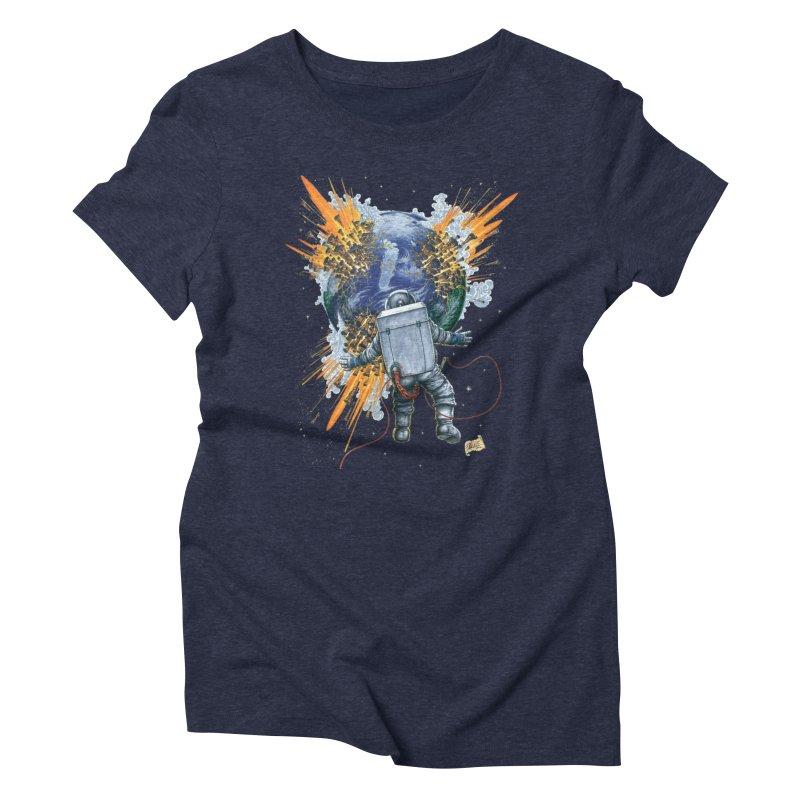 A Space Trifle Women's T-Shirt by Ferran Xalabarder's Artist Shop