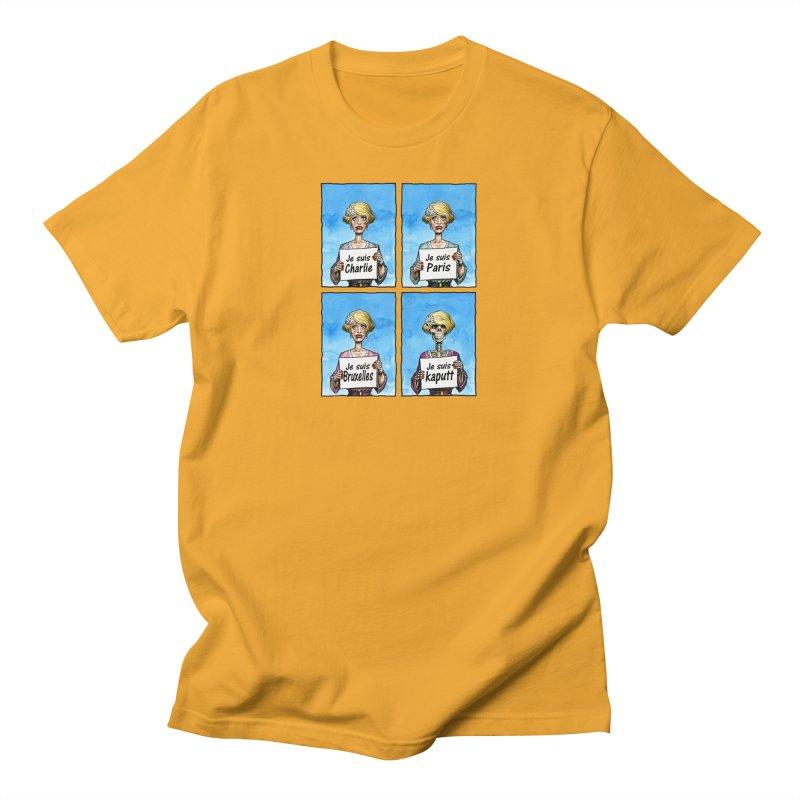 """Je Suis"" Natural Evolution Men's T-Shirt by Ferran Xalabarder's Artist Shop"