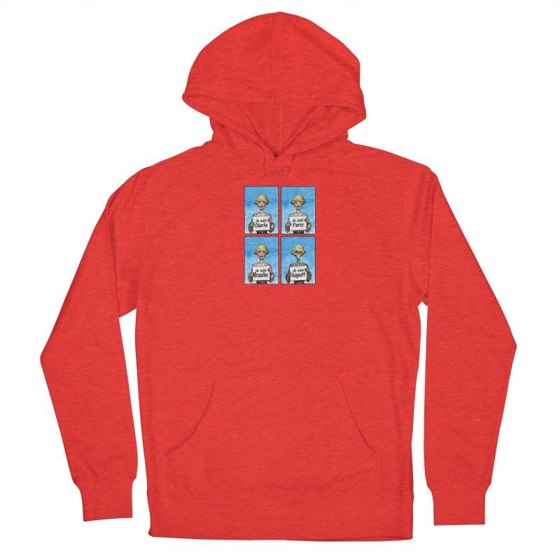 """Je Suis"" Natural Evolution Men's Pullover Hoody by Ferran Xalabarder's Artist Shop"