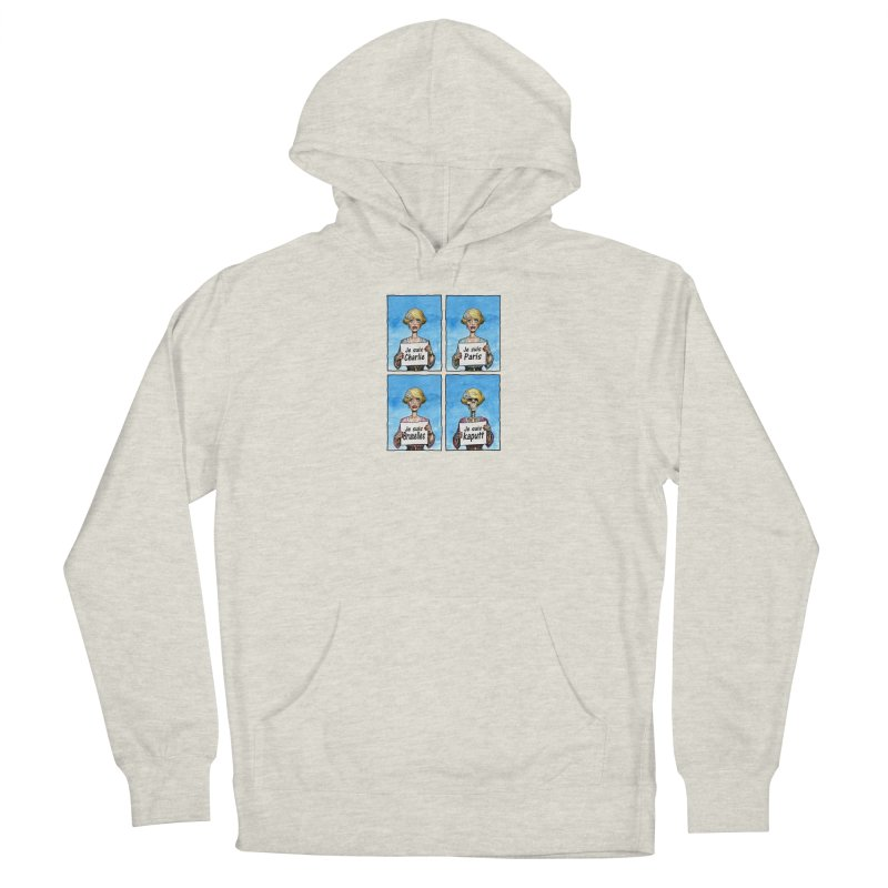 """""""Je Suis"""" Natural Evolution Women's French Terry Pullover Hoody by Ferran Xalabarder's Artist Shop"""