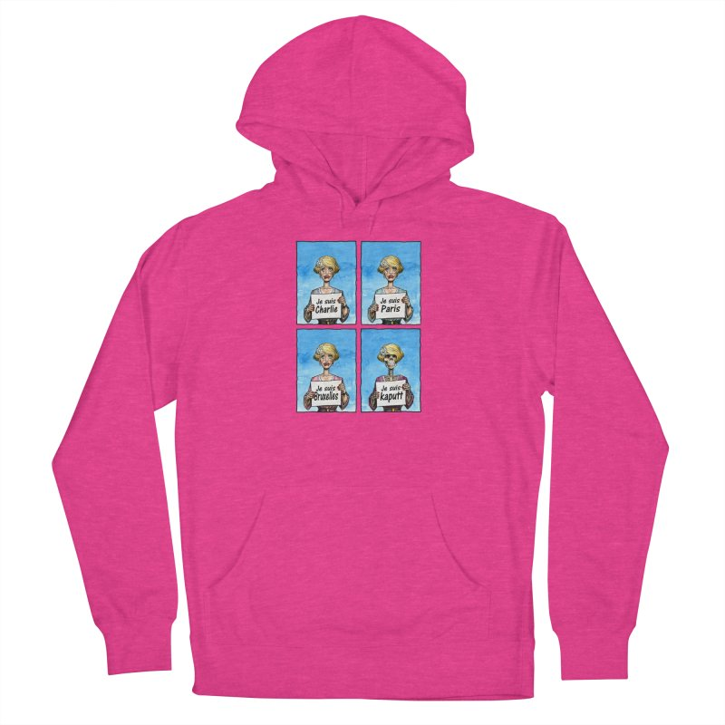"""Je Suis"" Natural Evolution Women's French Terry Pullover Hoody by Ferran Xalabarder's Artist Shop"