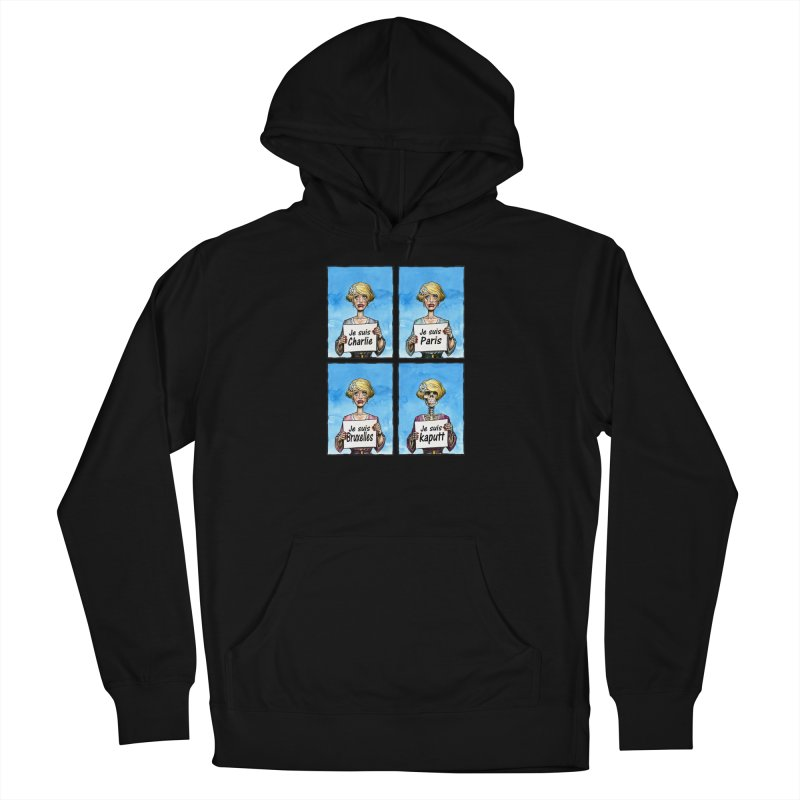 """Je Suis"" Natural Evolution Women's Pullover Hoody by Ferran Xalabarder's Artist Shop"