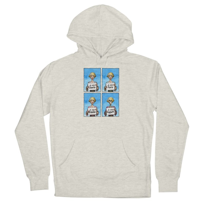 """Je Suis"" Natural Evolution Men's French Terry Pullover Hoody by Ferran Xalabarder's Artist Shop"