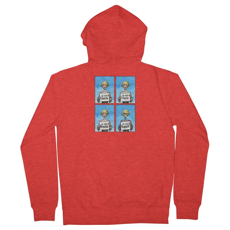 """Je Suis"" Natural Evolution Men's Zip-Up Hoody by Ferran Xalabarder's Artist Shop"