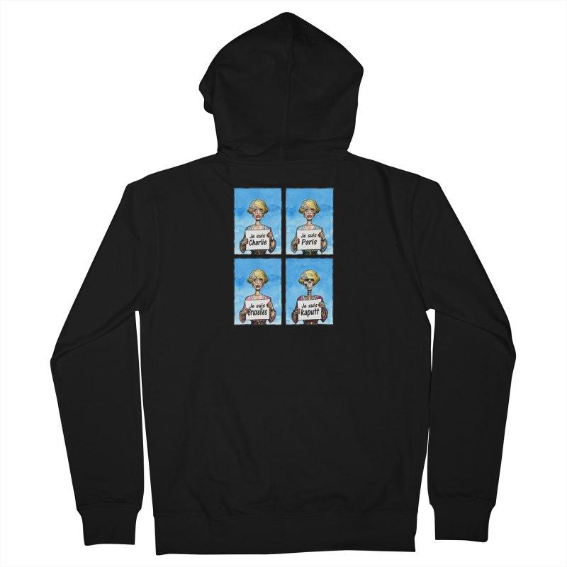"""""""Je Suis"""" Natural Evolution Men's Zip-Up Hoody by Ferran Xalabarder's Artist Shop"""
