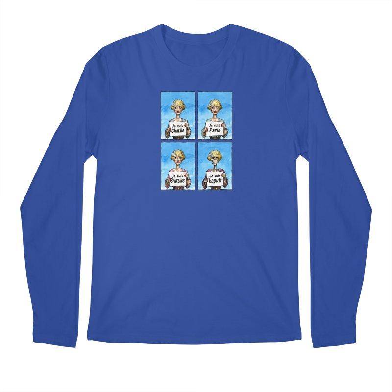 """""""Je Suis"""" Natural Evolution Men's Regular Longsleeve T-Shirt by Ferran Xalabarder's Artist Shop"""