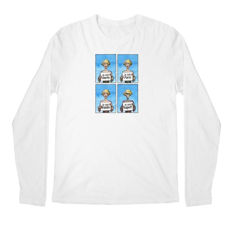 """Je Suis"" Natural Evolution Men's Longsleeve T-Shirt by Ferran Xalabarder's Artist Shop"