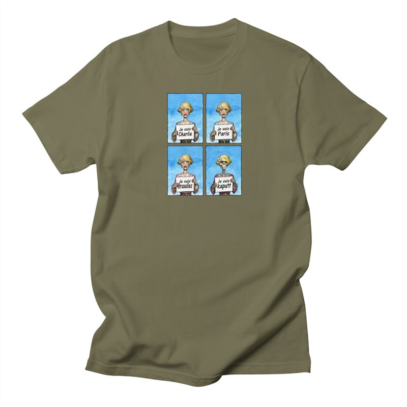 """Je Suis"" Natural Evolution Women's Unisex T-Shirt by Ferran Xalabarder's Artist Shop"