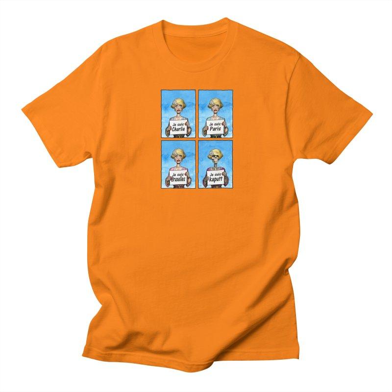 """Je Suis"" Natural Evolution Men's Regular T-Shirt by Ferran Xalabarder's Artist Shop"