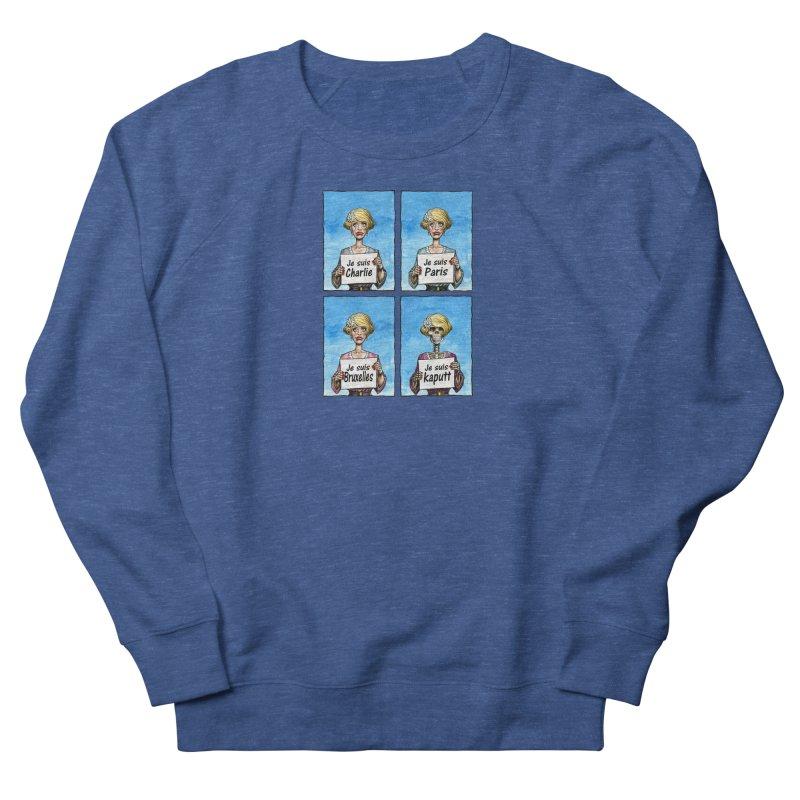 """Je Suis"" Natural Evolution Women's Sweatshirt by Ferran Xalabarder's Artist Shop"