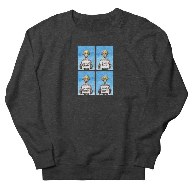 """Je Suis"" Natural Evolution Men's Sweatshirt by Ferran Xalabarder's Artist Shop"