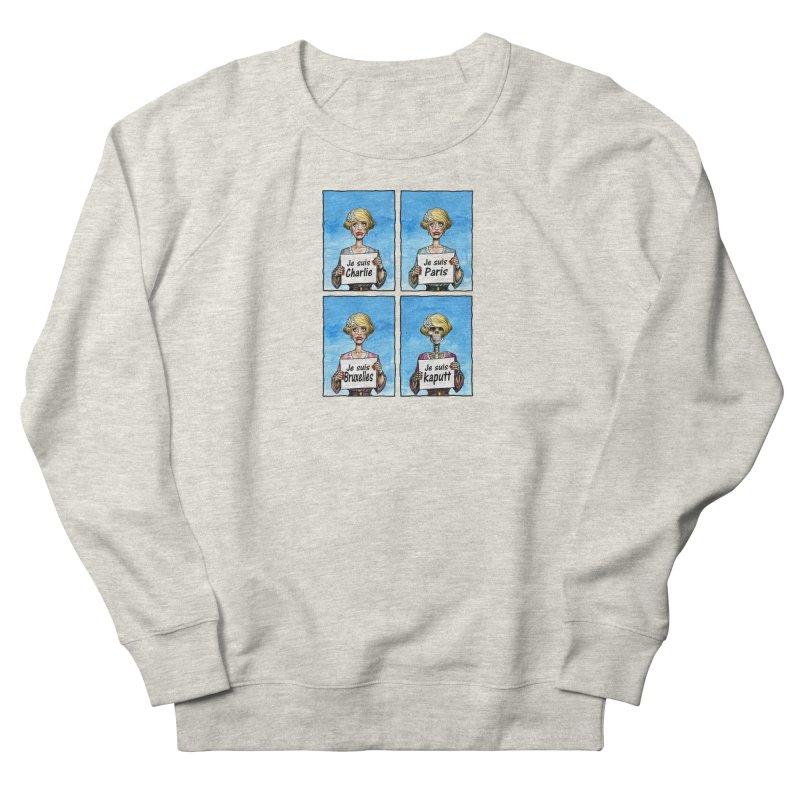 """Je Suis"" Natural Evolution Men's French Terry Sweatshirt by Ferran Xalabarder's Artist Shop"