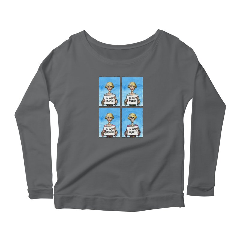 """Je Suis"" Natural Evolution Women's Longsleeve T-Shirt by Ferran Xalabarder's Artist Shop"