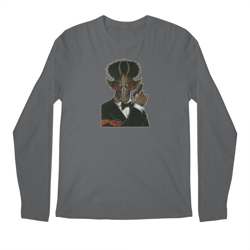 Born in Hell Men's Regular Longsleeve T-Shirt by Ferran Xalabarder's Artist Shop