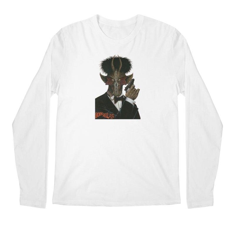 Born in Hell Men's Longsleeve T-Shirt by Ferran Xalabarder's Artist Shop