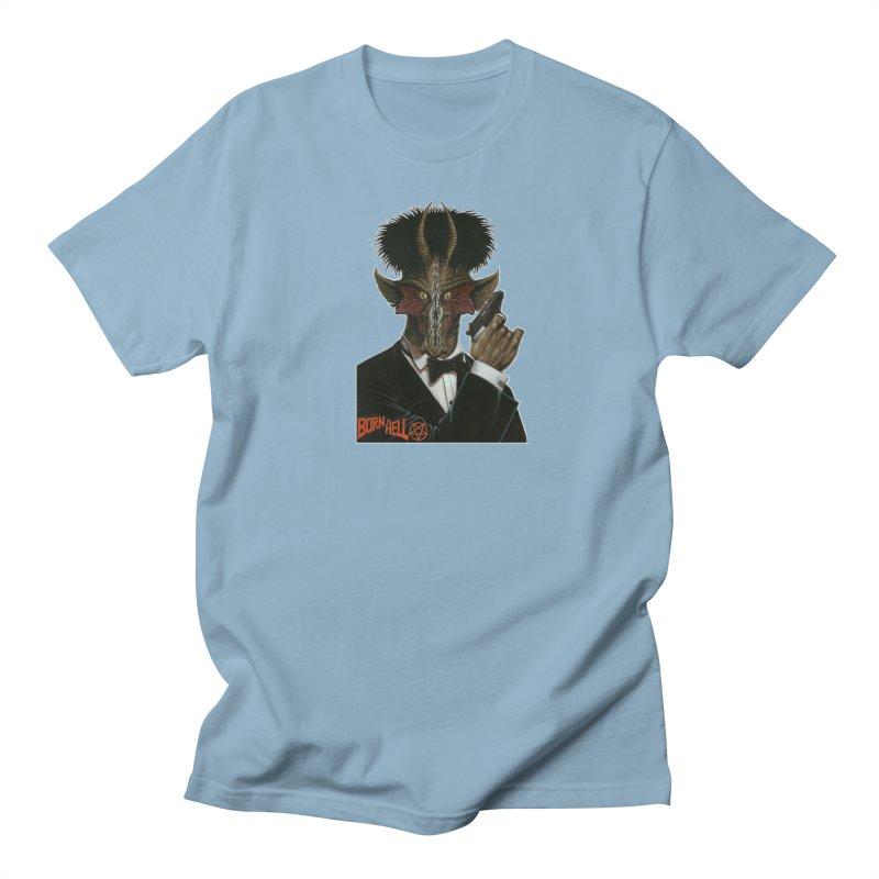 Born in Hell Women's Unisex T-Shirt by Ferran Xalabarder's Artist Shop