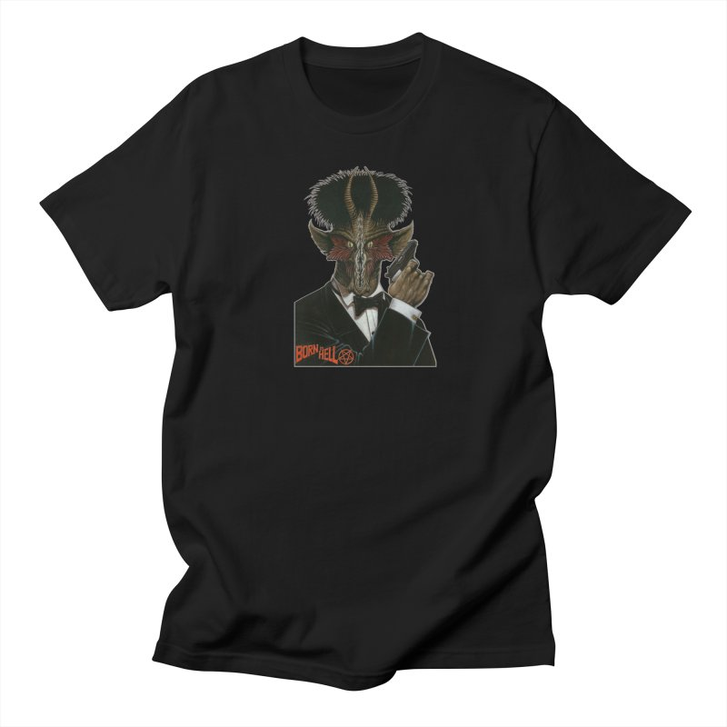Born in Hell Men's T-Shirt by Ferran Xalabarder's Artist Shop
