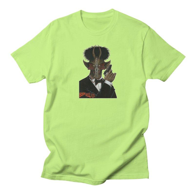 Born in Hell Men's Regular T-Shirt by Ferran Xalabarder's Artist Shop