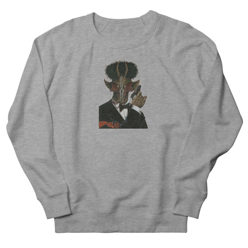 Born in Hell Women's Sweatshirt by Ferran Xalabarder's Artist Shop