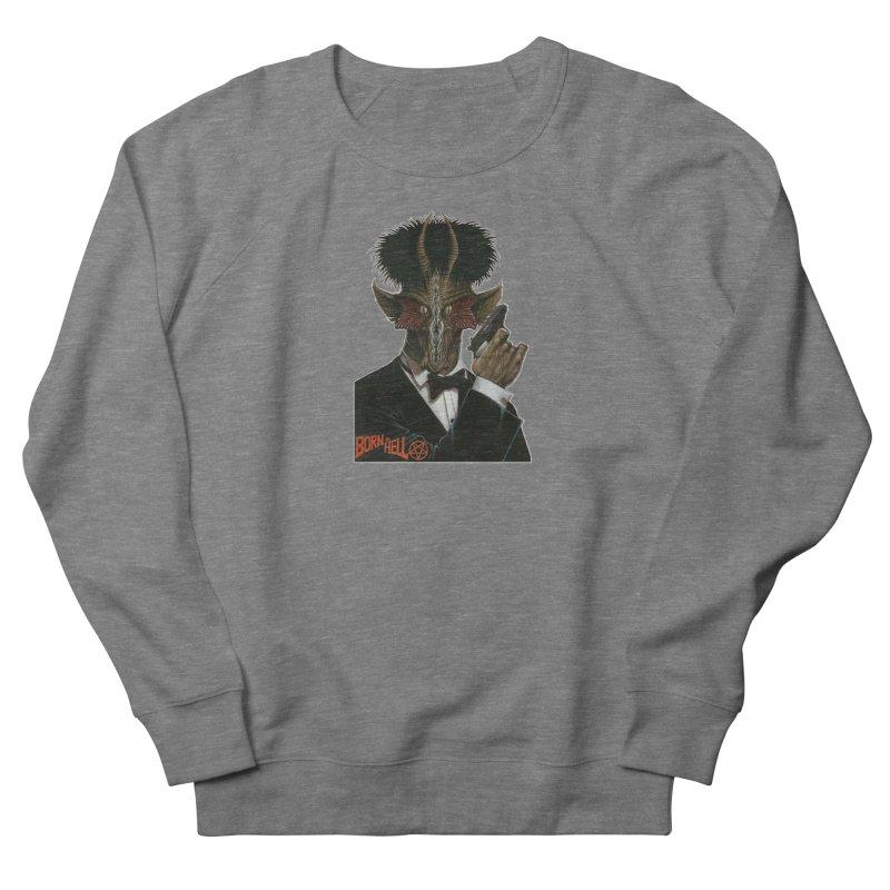 Born in Hell Men's Sweatshirt by Ferran Xalabarder's Artist Shop