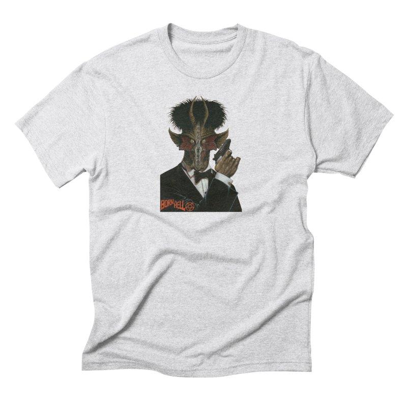 Born in Hell Men's Triblend T-Shirt by Ferran Xalabarder's Artist Shop