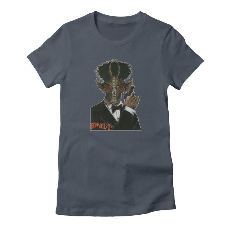 Born in Hell Women's T-Shirt by Ferran Xalabarder's Artist Shop