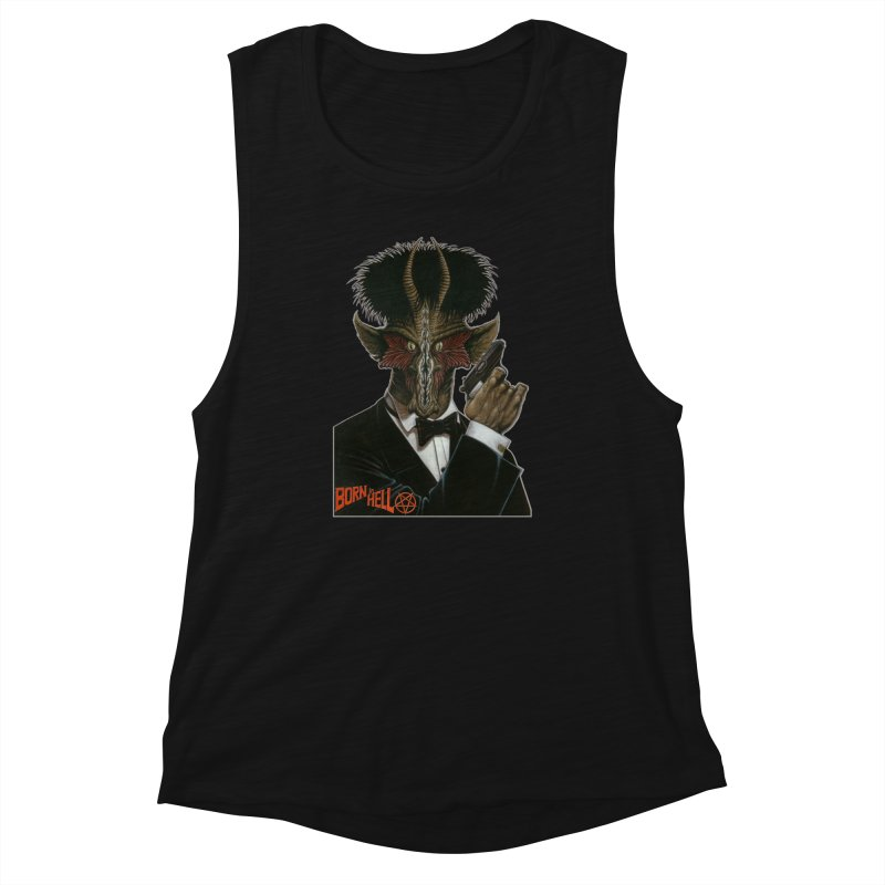 Born in Hell Women's Tank by Ferran Xalabarder's Artist Shop