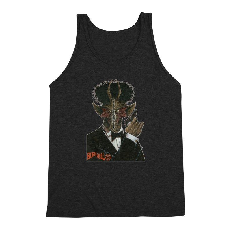Born in Hell Men's Tank by Ferran Xalabarder's Artist Shop