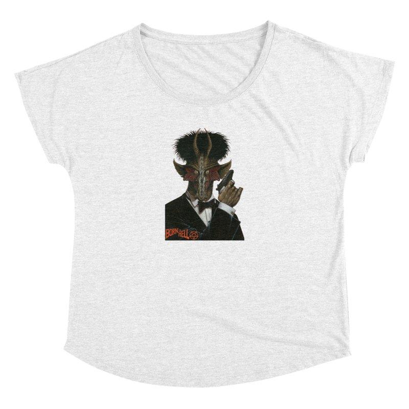 Born in Hell Women's Dolman by Ferran Xalabarder's Artist Shop